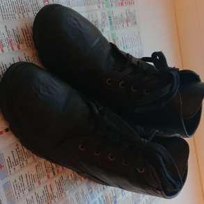 Ботинки кожаные черные, в Самаре