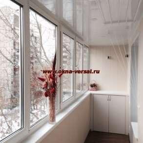 Комплексная отделка балкона, в Москве
