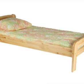 Кровать односпальная массив сосны, в г.Минск
