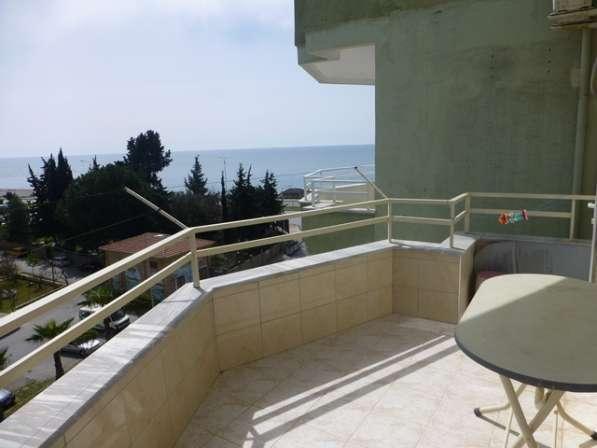 Меблированная квартира с видом на море, Аланья. Тосмур. 1355