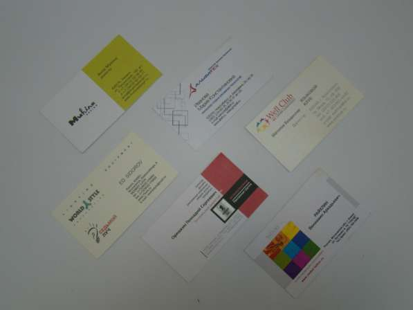 Продам визитки