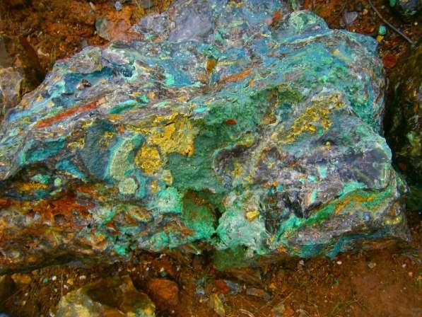 Ландшафтный камень с зеленью 7р кг