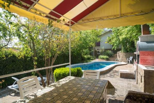Дом с бассейном и сауной в Ялте фото 15