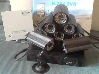 комплект видеонабл. на 8 уличных камер