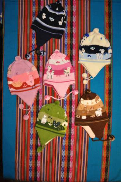 Шапки из шерсти высокогорных животных Детская шапка