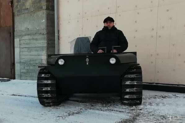 Вездеход Егоза «Охотник-1» в Иркутске фото 3