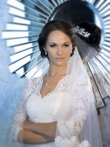 Свадебный макияж, прическа на дом в Челябинске фото 8