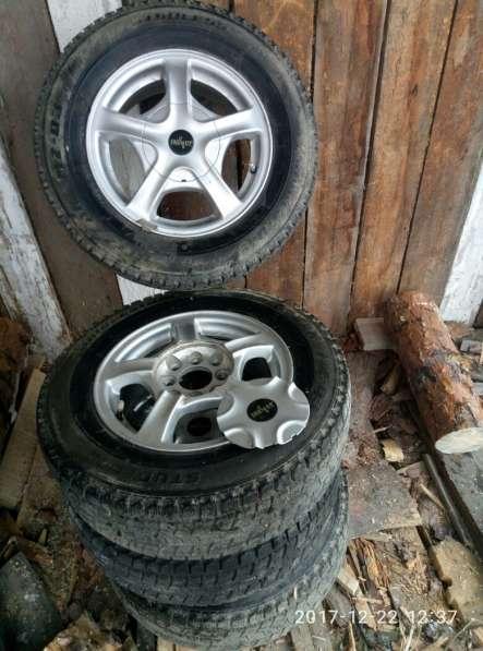 Колеса Bridgestone blizzak mz-03 175/79 R13 82Q в Екатеринбурге фото 4