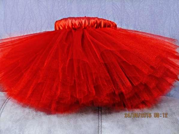 Туту юбка для девочки со шлейфом