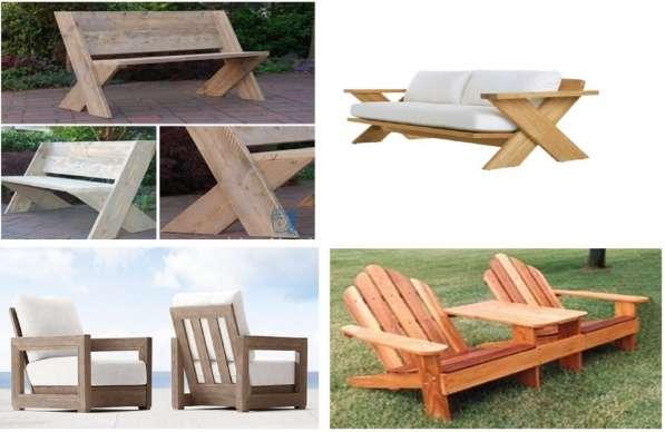 Изготовление мебели для сада, дома, дачи