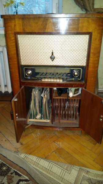 Радиомагнитола, Германия 1954г