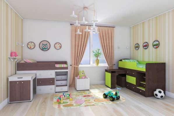 Кровать -чердак Малыш