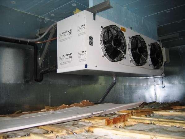 Камеры заморозки, охлаждения, хранения в Крыму. Установка
