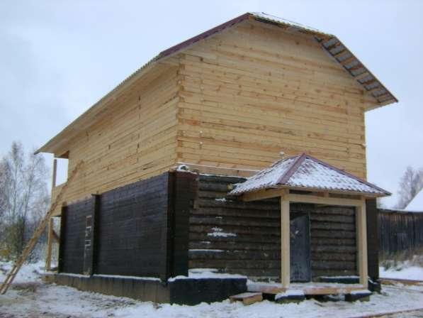 Строительство домов, бань из бревна и бруса