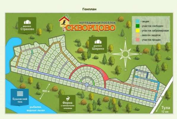 Скворцово - ИЖС 12 км от Тулы Веневское шоссе