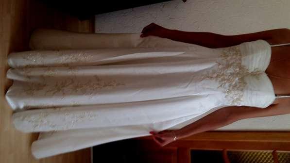 Продам невероятное изысканное Свадебное платье из атласа