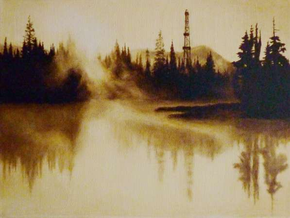 Картина нефтью на заказ