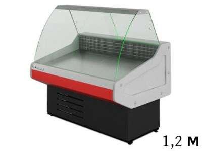 Холодильные витрины 0. + 7С, 1.2 м