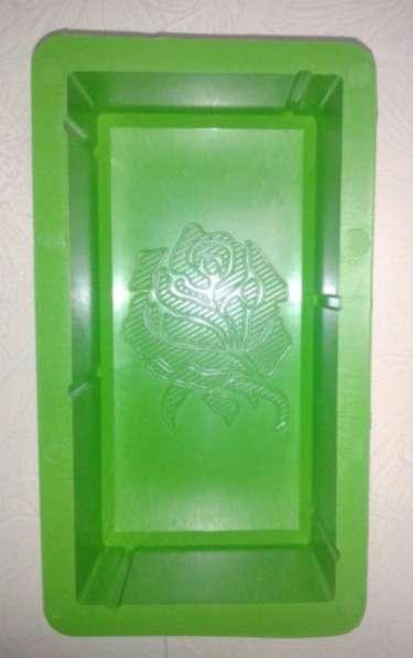 Форма для тротуарной плитки Доставка Пластикэксперт ООО Кирпич Роза 20х10х6
