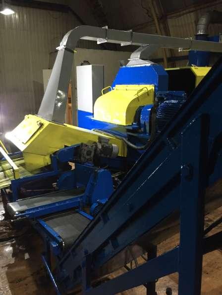 Оборудование для производства резиновой крошки, б/у в Москве