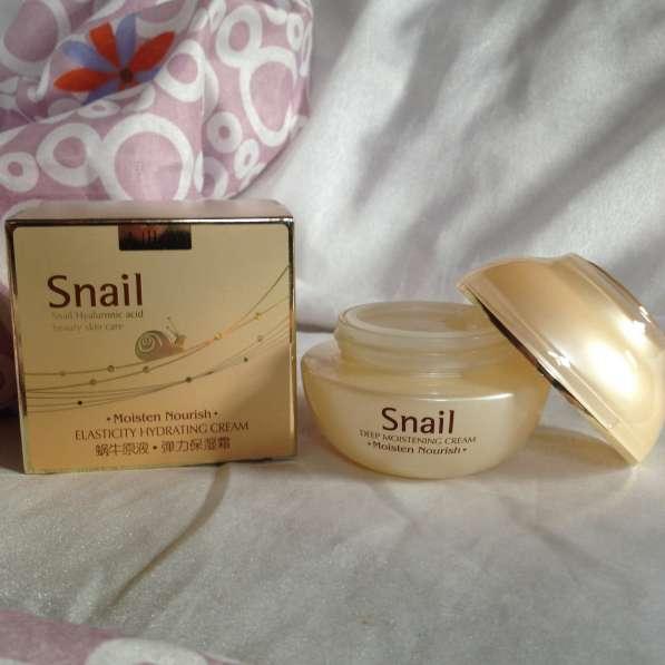 """Глубоко увлажняющий крем """"Snail"""" для лица и шеи в Уфе фото 3"""