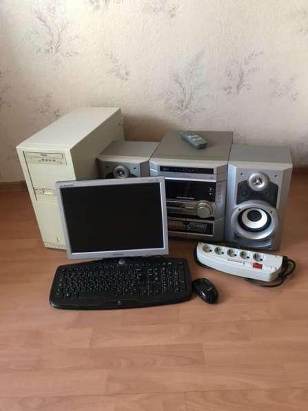 Компьютер+музыкальный центр!