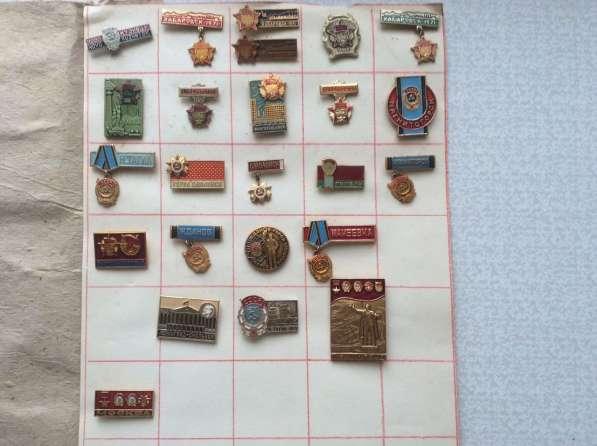 Коллекция. Значки и медали. 4000 шт в фото 6
