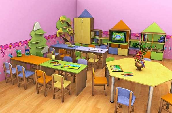 Мебель для дошкольных и учебных заведений