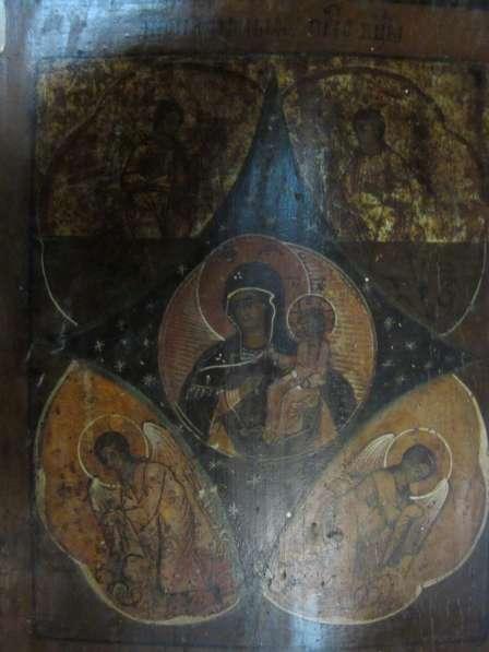 ИКОНА-ПРЕСВЯТАЯ БОГОРОДИЦА-НЕОПАЛИМАЯ КУПИНА-27 см * 34 cм в Челябинске фото 6