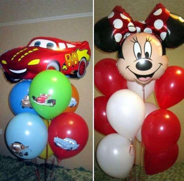 Гелиевые шары от 30₽