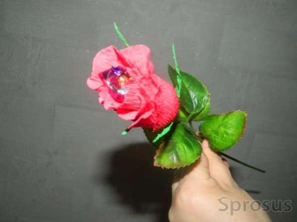 Искусственные Букеты из Роз с Конфетами!