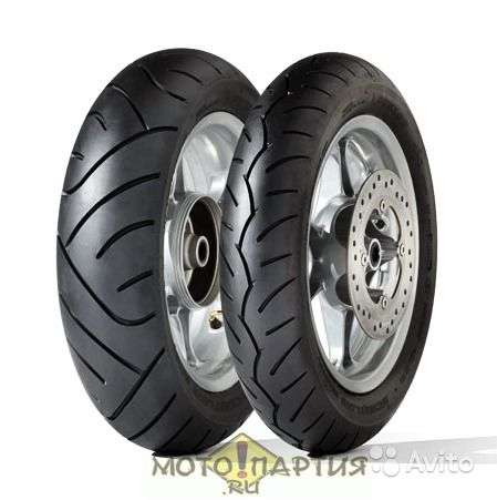 Новые Dunlop 120/80-14M 58S ScootSmart F