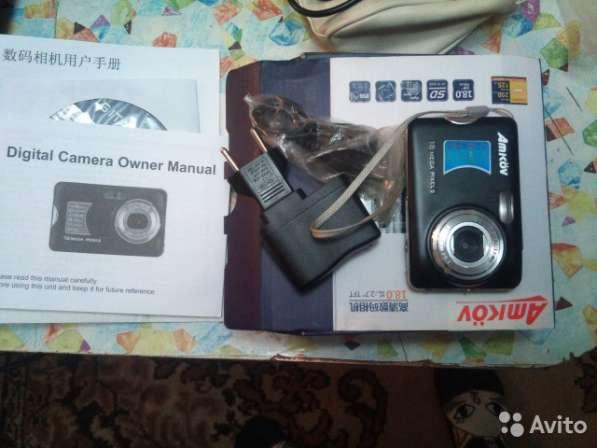 Фотоаппарт с флешкой, аккумулятором, документами,18 Мп