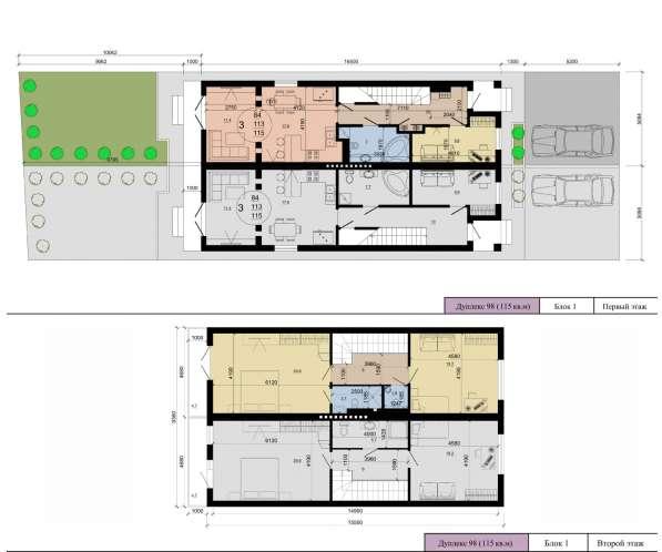 Современный Дом с Эксклюзивной Планировкой 2-э + Мансарда в Краснодаре