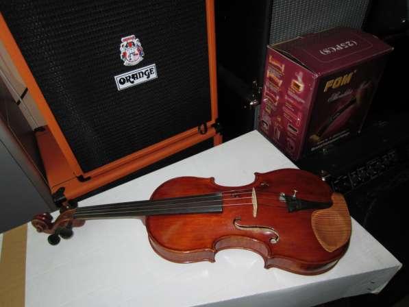Скрипка Ивана Варычева мастеровая под Гварнери, выпуск 1984г в Симферополе