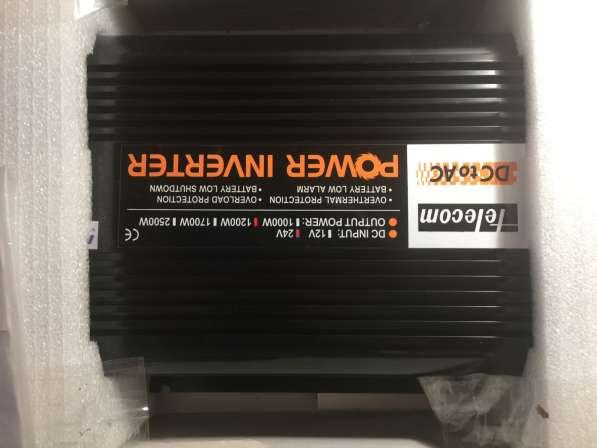 Инвертор, преобразователь с 24 на 220 вольт, 1200ватт в Казани