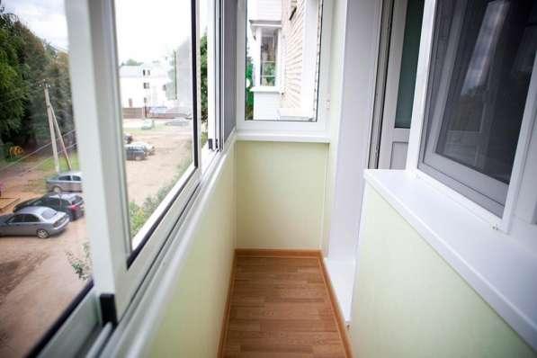 Окна из алюминия для балкона в хрущевке в подольске.