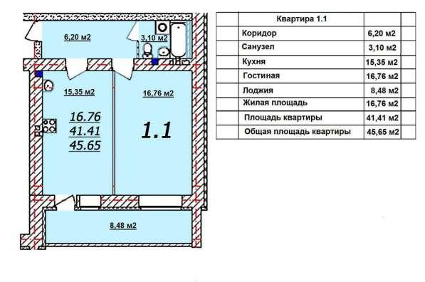 1к квартира в новостройке В. Пышма Козицина 14