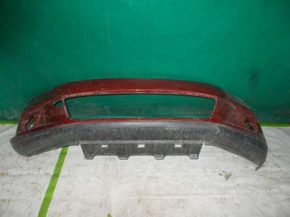 Volkswagen Tiguan - Красного цвета Передний бампер Оригиналь