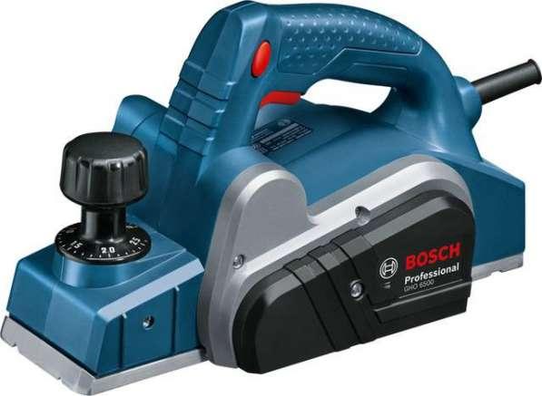 Рубанок электрический Bosch GHO 6500 0601596000