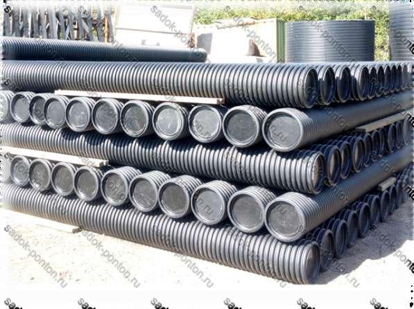 Трубные понтоны 315 длиной от 1 до 6 метров с крепежом в Санкт-Петербурге фото 4