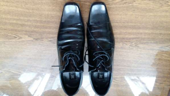 Туфли лаковые, кожаные, черные, MasaiTier. 43-р-р