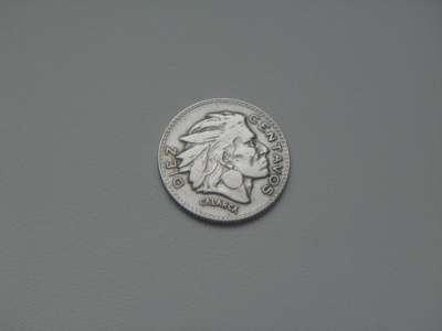 Монета 10 Сентаво 1956 год Колумбия