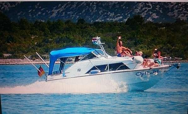 """Катер Fjord 24"""" Weekender с трейлером 3,5 t в Болгарии"""
