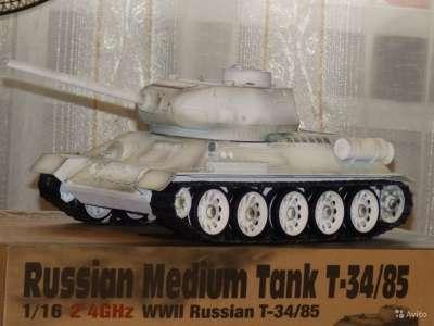 Радиоуправляемый танк Taigen T34-85 в ма