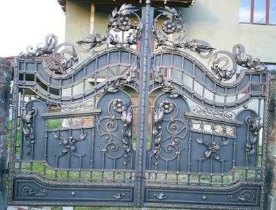 ворота,перила,калитки,заборы,козырьки