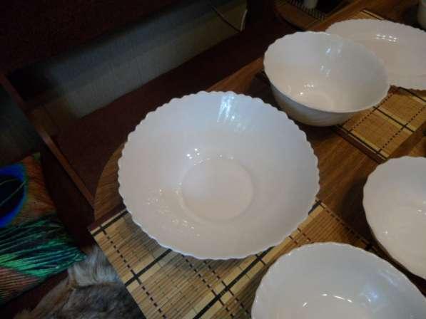 Замечательные посуда из белого фарфора+ стеклянная в Санкт-Петербурге фото 9