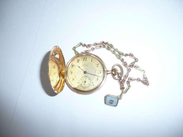 Карманные часы Louis Audemars. 1850 год. Золотой корпус