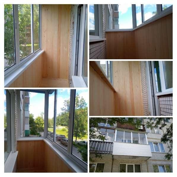 Остекление и обшивка балконов и лоджий в Новосибирске