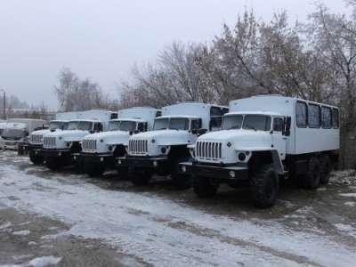 Хтовые автобусы Урал 32551-0013-61М, 2016 г.в. без пробега от завода изготовителя в наличии